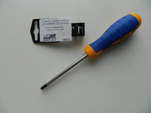 Инструмент Отвертка TORX с отверстием T27*100 KRAFT