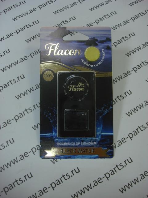 Ароматизатор воздуха Flacon на дефлектор black water