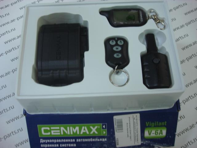 Автосигнализация CENMAX Vigilant V- 6A ж/к обратная связь