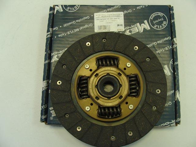 Диск сцепления VAG  AUDI 100/80/VW PASSAT 1.6/1.8 70>88 MEYLE 1172102401