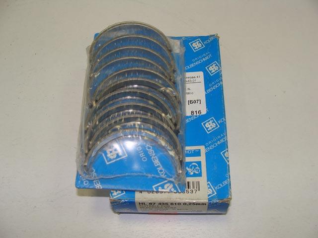 Вкладыши коренные MB 2.0-2.3L 0.25mm KOLBENSHCMIDT 87435610