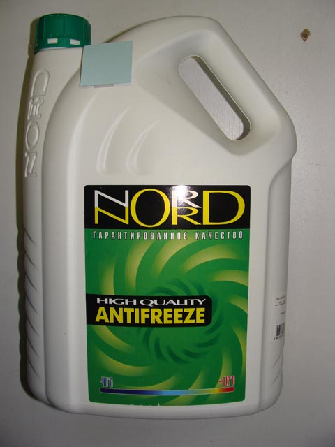 Антифриз NORD 5L зеленый